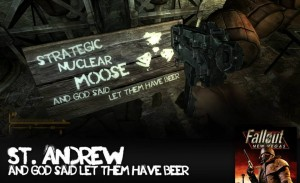 An extra mission's sign in Fallout New Vegas
