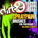 SprayPaint Brush Preview