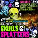 Grunge_Skull_Splatter