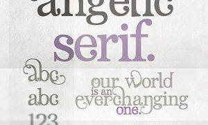 Angelic Serif