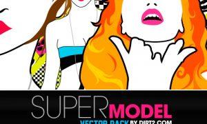 Supermodel Vector Pack