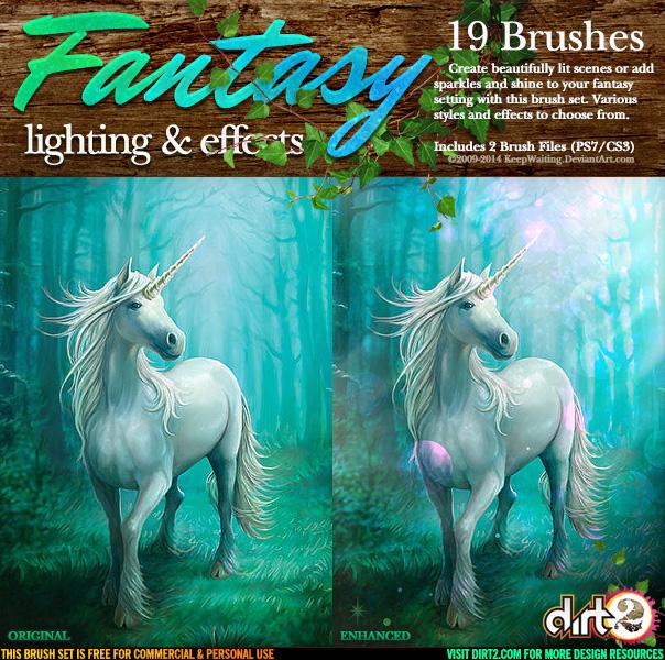 SprayPaint Splatter Brushes by Dirt2 com