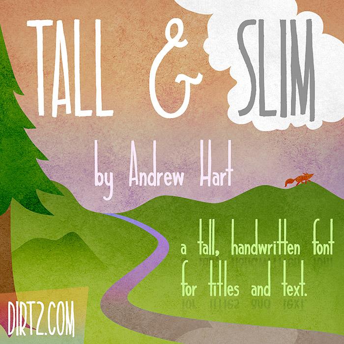 tall-slim-font