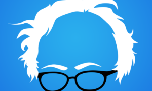 Free Bernie Hair Vector