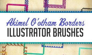 Akimel O'otham – Pima Illustrator Brushes