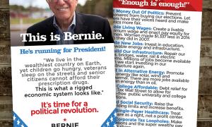 Bernie Sanders Business Cards