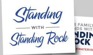Stand With Standing Rock Sign Printouts