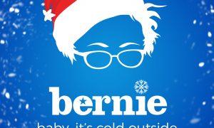 Bernie Santa Hat Vector